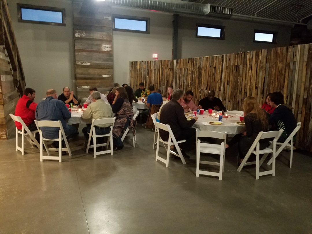 We had a great time hosting Monarch Inventory's company holiday party in our corporate event space. Monarch was also celebrating a wonderful, successful year with lots of changes and growth! Congratulations Monarch, and we wish you continued success and growth in the new year!